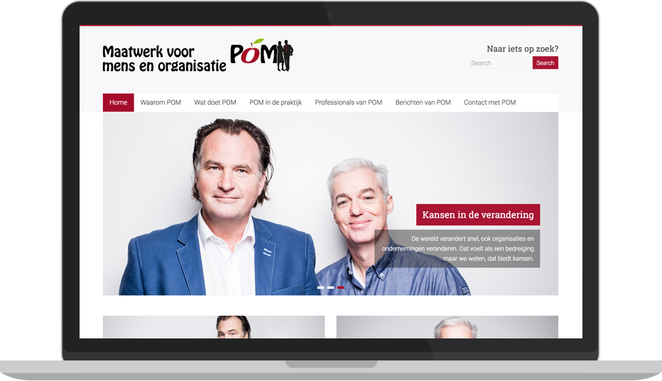 POMbetuwe – Website